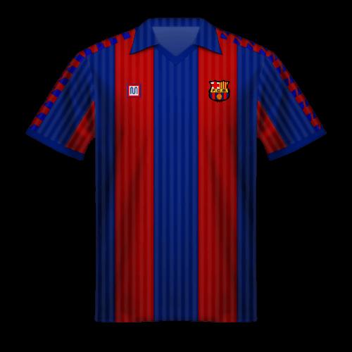 Camiseta FC Barcelona 1990/91
