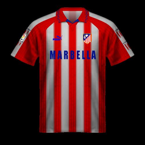 Maglia Atletico Madrid 1995-96 doblete