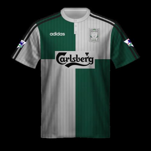 Maglia Liverpool 1995/96 trasferta