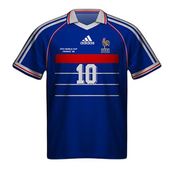 Maglia Francia 1998