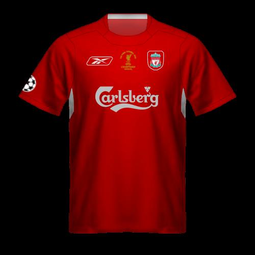 Maglia Liverpool 2004-2005