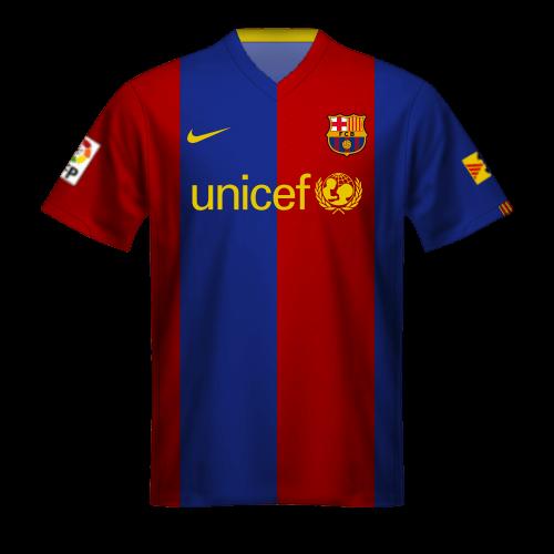 Camiseta FC Barcelona 2006/07, Unicef