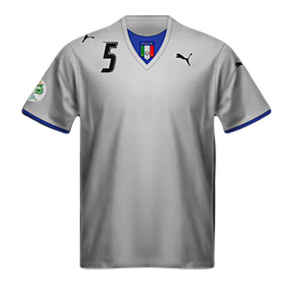 Maglia Italia Seconda 2006