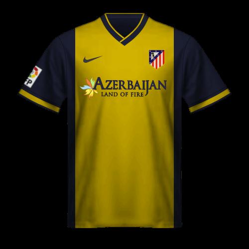 Maglia Atletico Madrid 2013-14 Godin