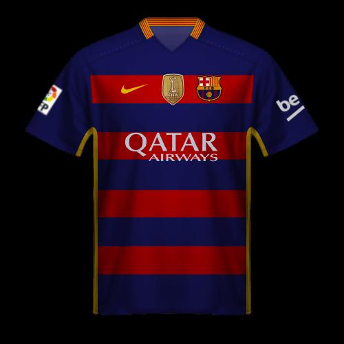 Camiseta FC Barcelona 2015/16