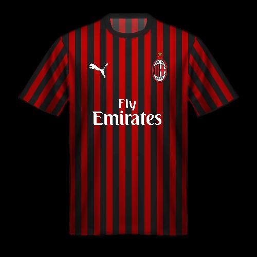 Camiseta Milan 2019/20