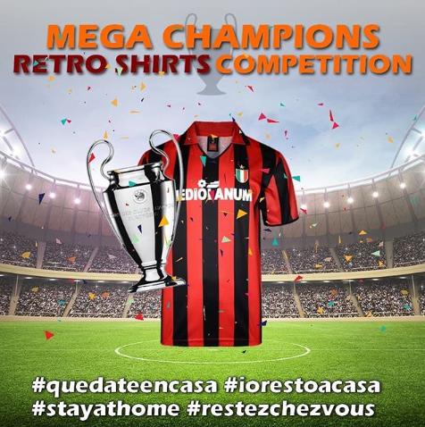 Milan, mejor camiseta de la historia de la Champions
