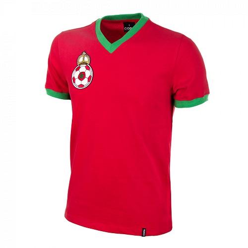 Marruecos camiseta futbol 1970