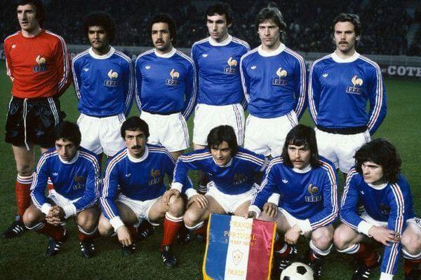 Maglia Francia anni 70