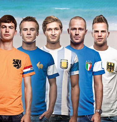 T Shirts Football Vintage