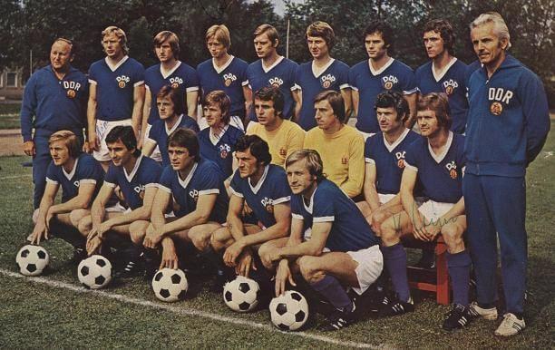 Maglia Storica Germania Est 1974