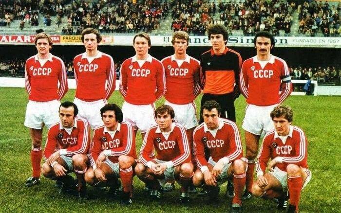 Maglia CCCP Mondiale 1982, la nazionale dell'URSS eliminata per differenza reti