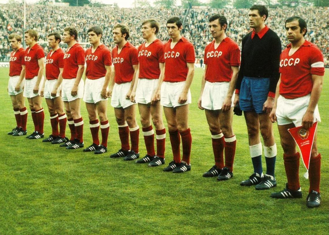 Maglia CCCP 1972, la squadra sovietica arriva seconda agli Europei