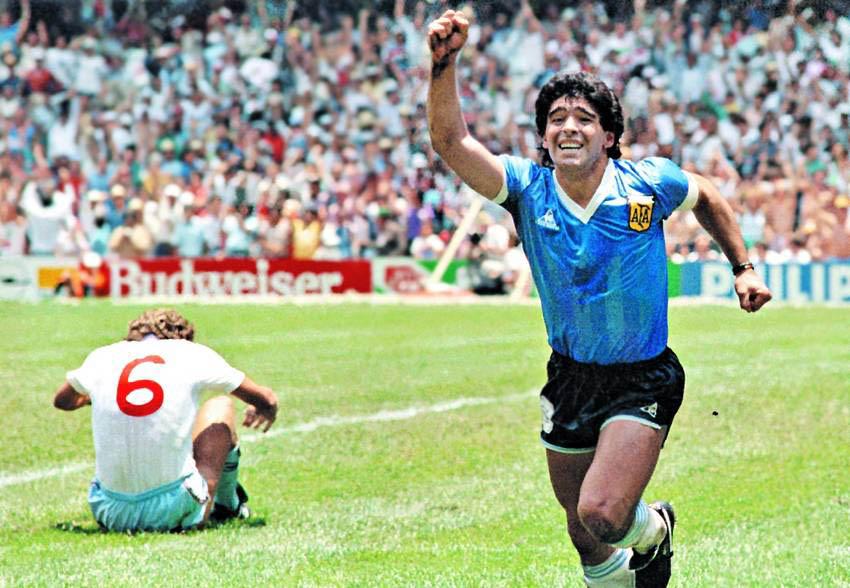 Diego Maradona Mexico 1986