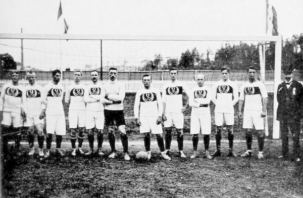 Nazionale Tedesca alle Olimpiadi del 1912