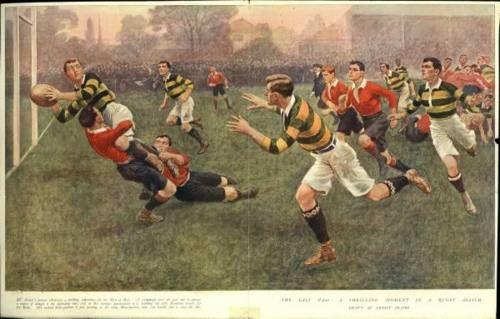 maglie vintage rugby