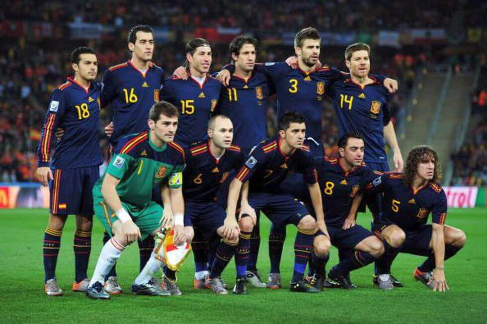 Spagna 2010 campioni dil mondo