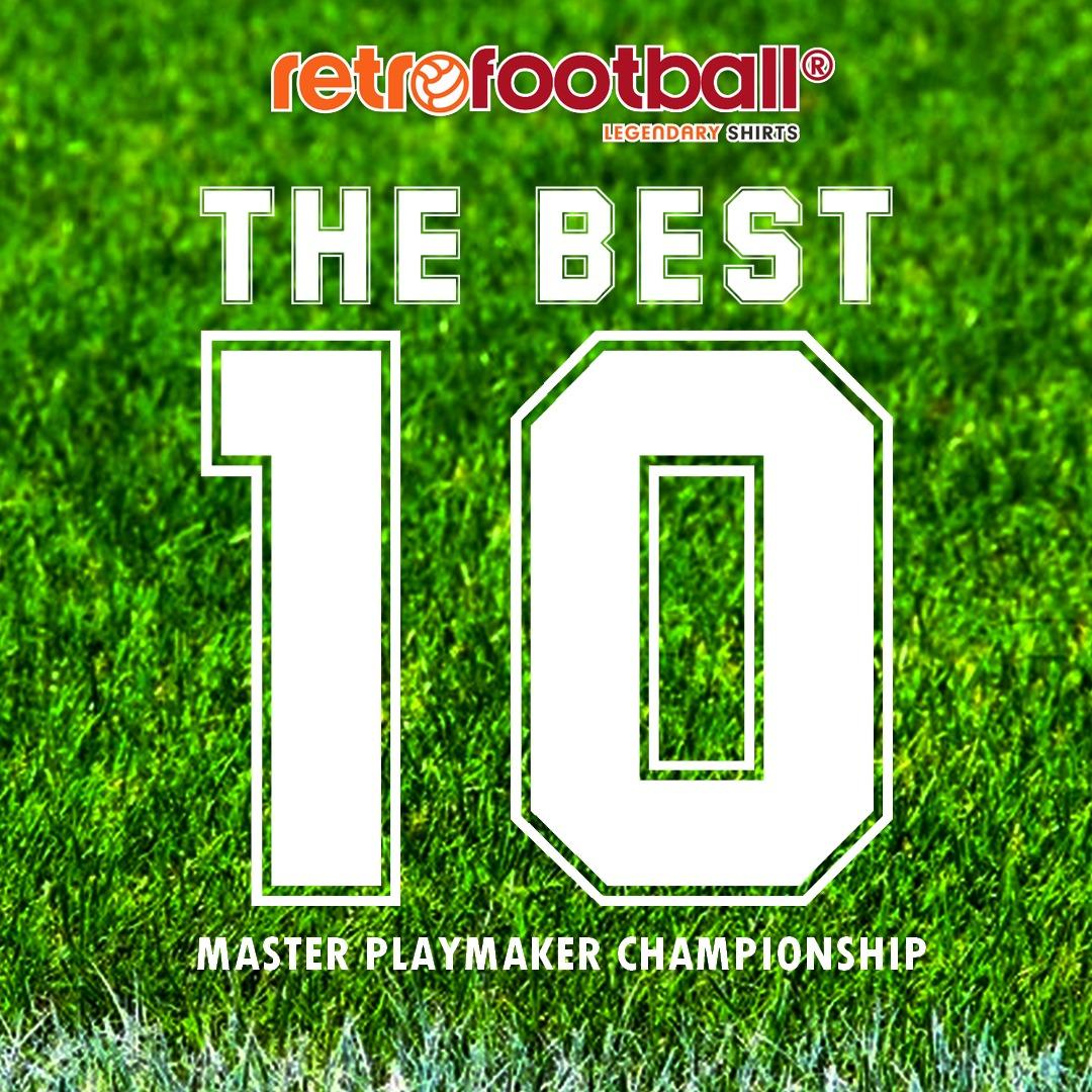 The best 10 - Master Playmaker Championship de Retrofootball