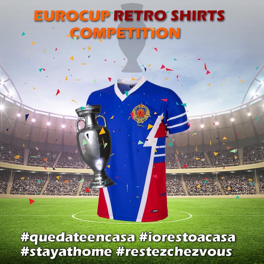 Camiseta retro Yugoslavia 1990