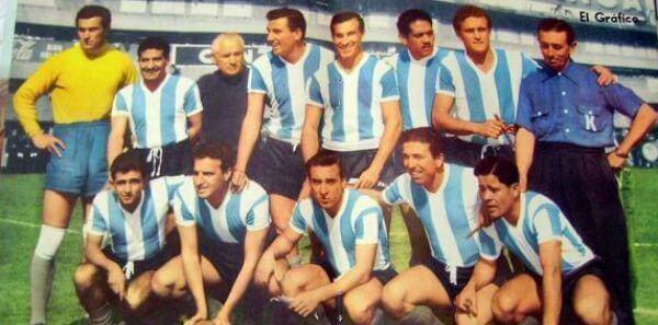La Nazionale Argentina al mondiale del 1958