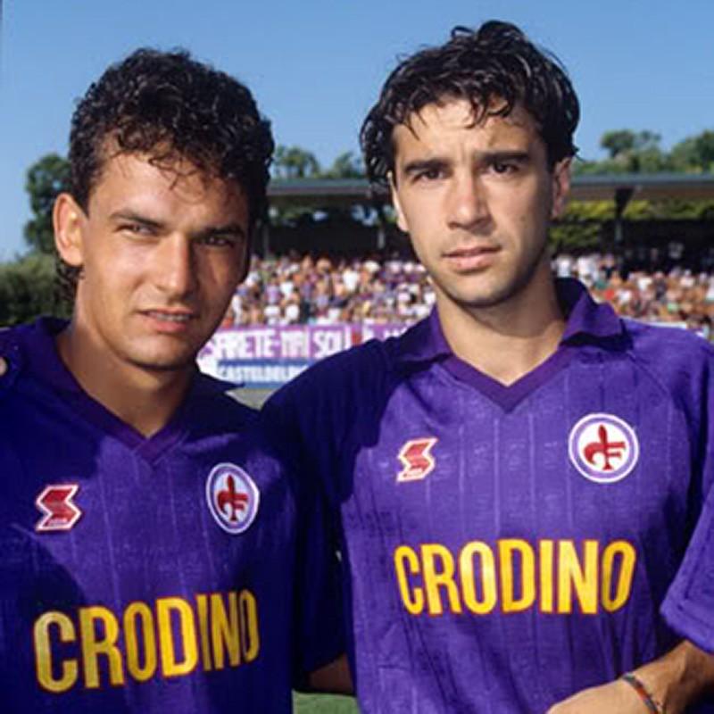 Baggio e Borgonovo maglia Crodino