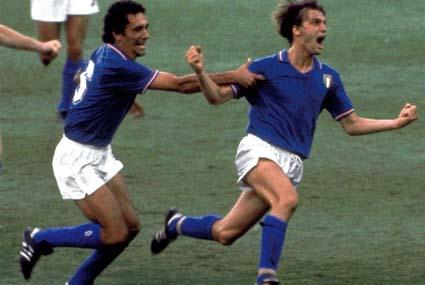 L'urlo di Tardelli al Mondiale di Spagna 82
