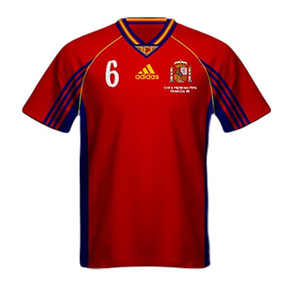 Maglia Spagna Mondiali Francia 1998