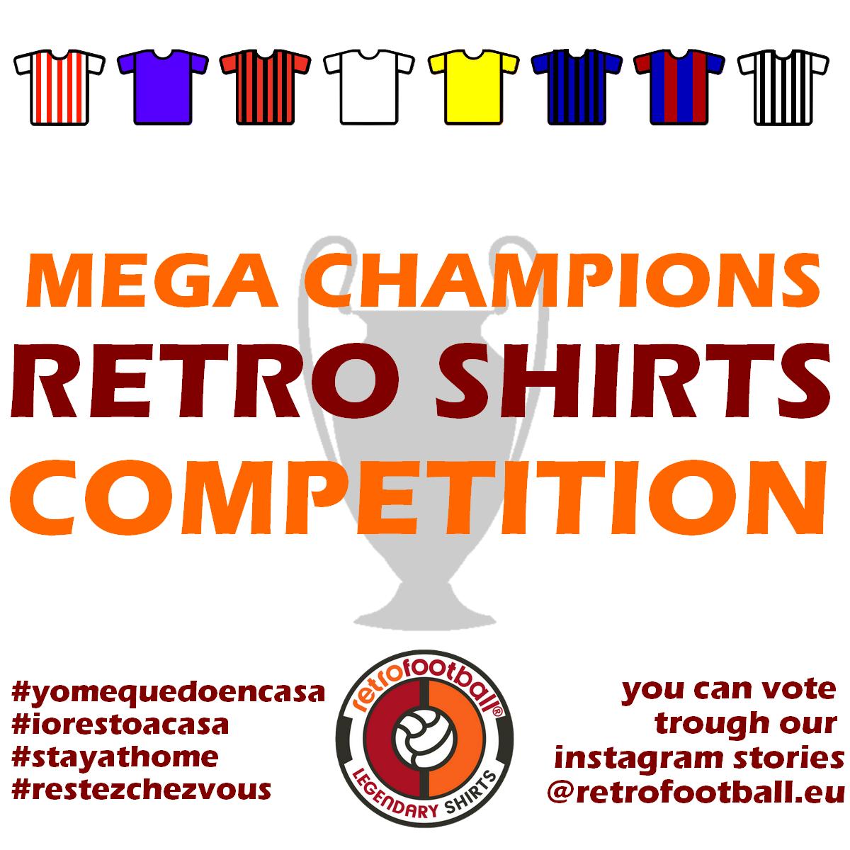 Mega Champions Retro Shirts Competition