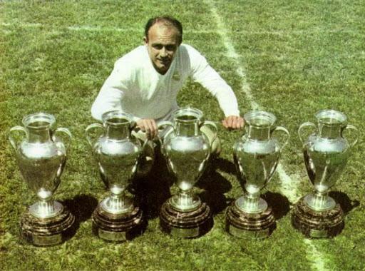 Alfredo Di Stefano Champions League