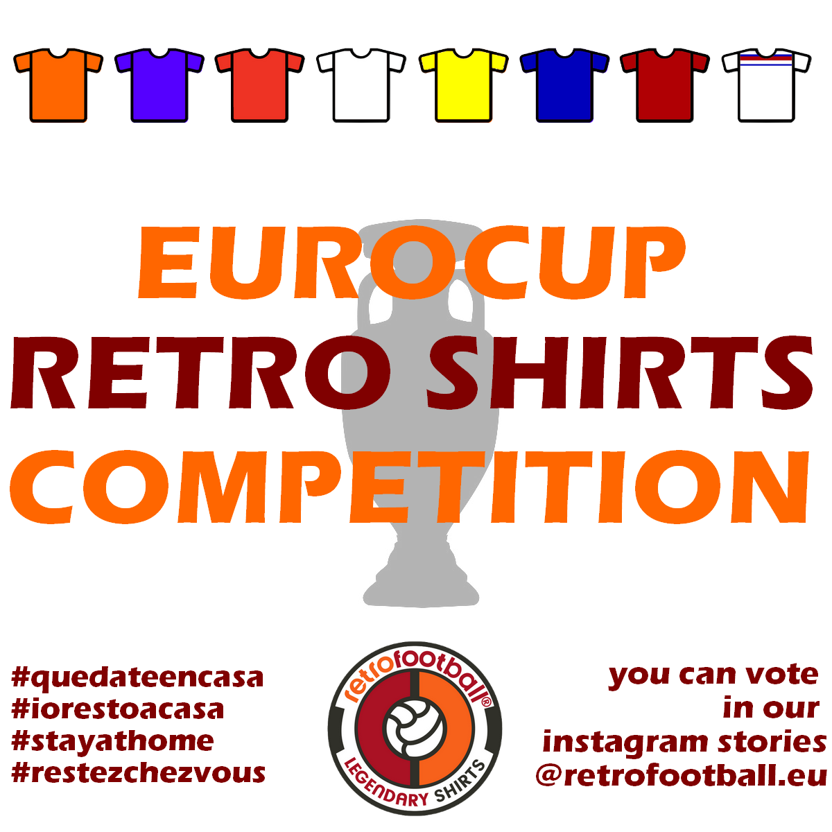 EuroCup Retro Shirts Competition