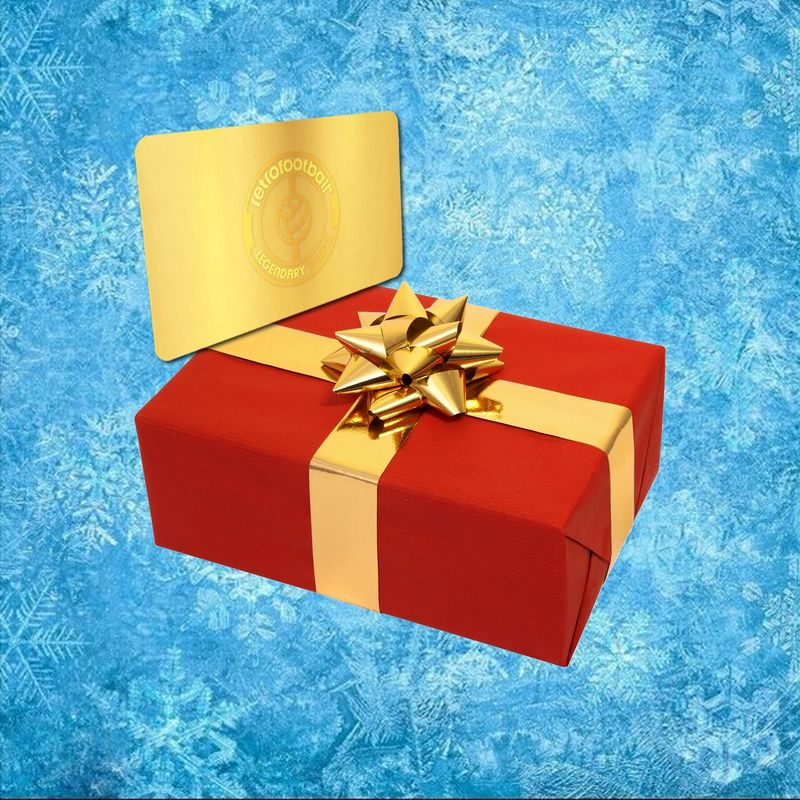 Gift Card Retrofootball