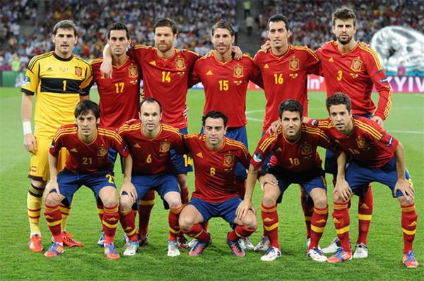 Storia Maglia Spagna