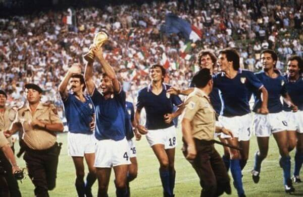 L'Italia campione del mondo al mondiale di Spagna '82