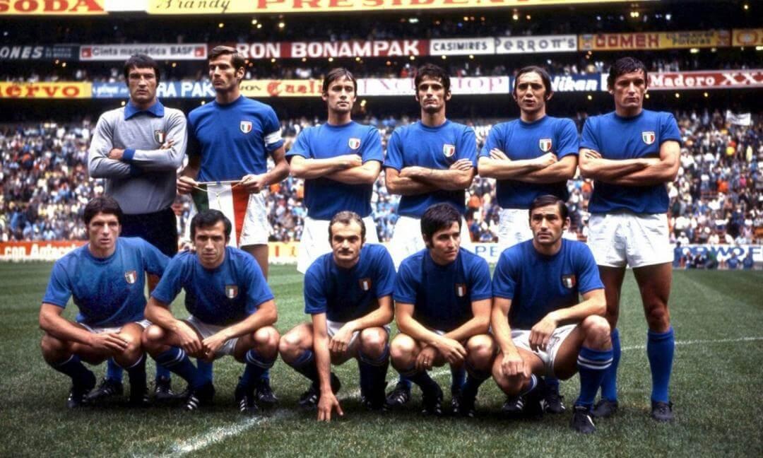 Italia Mondiali 1970 Messico '70