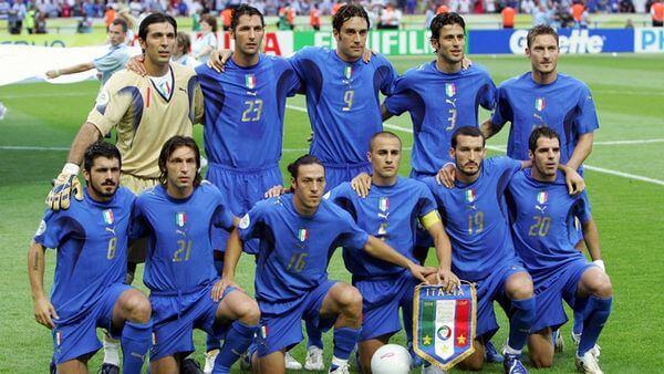 Italia campione del mondo nel 2006