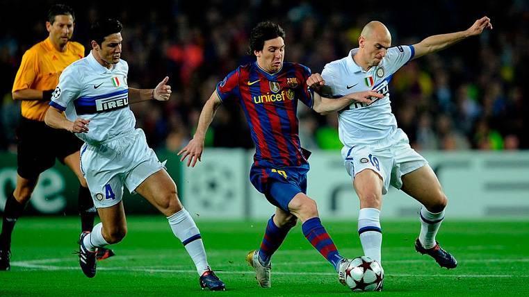 Barcelona-Inter  2010