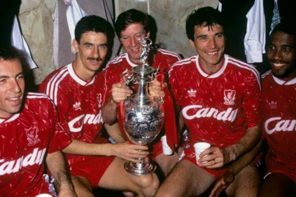 Liverpool FC 1990 first division