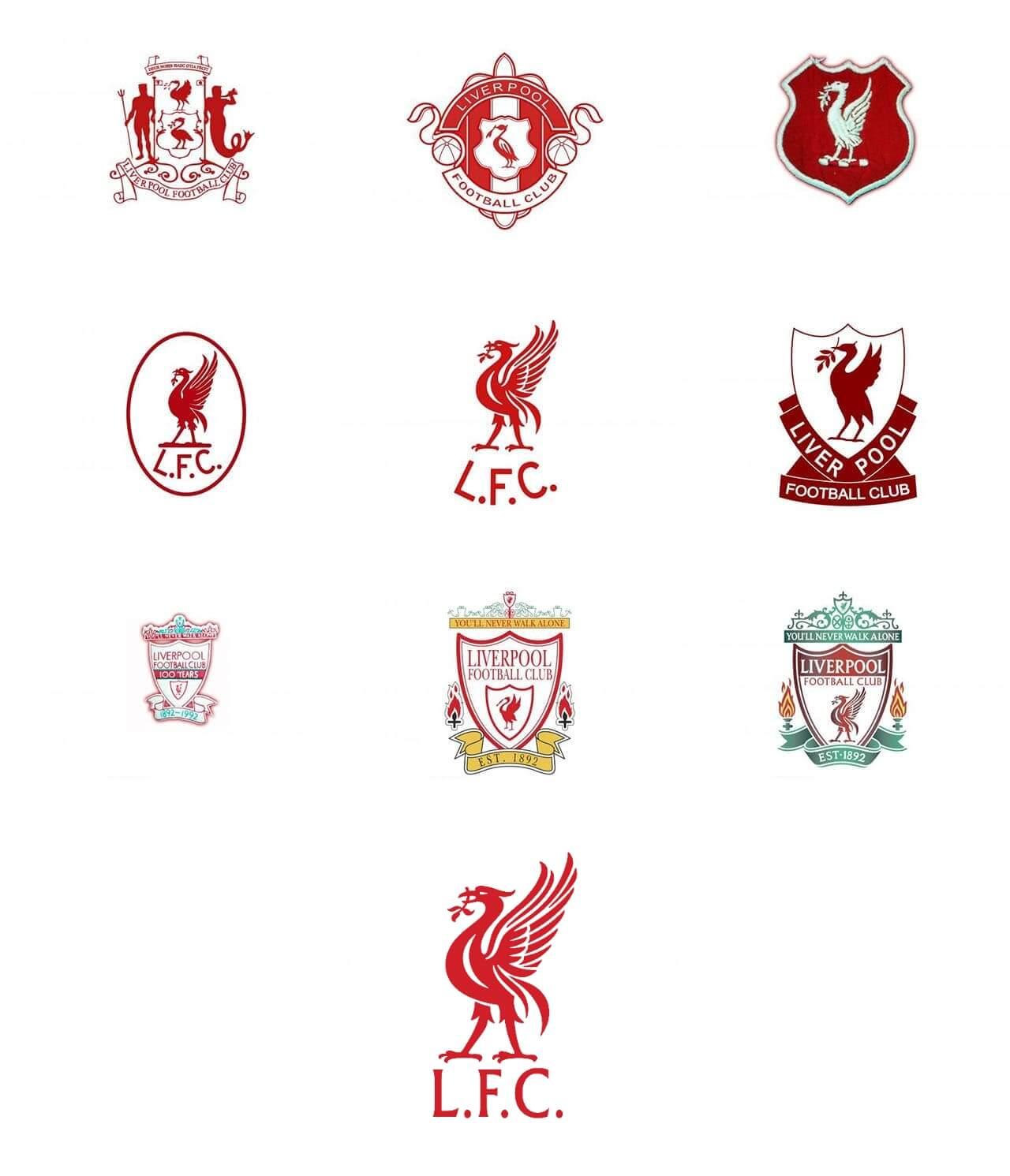 Storia del logo del Liverpool stemma