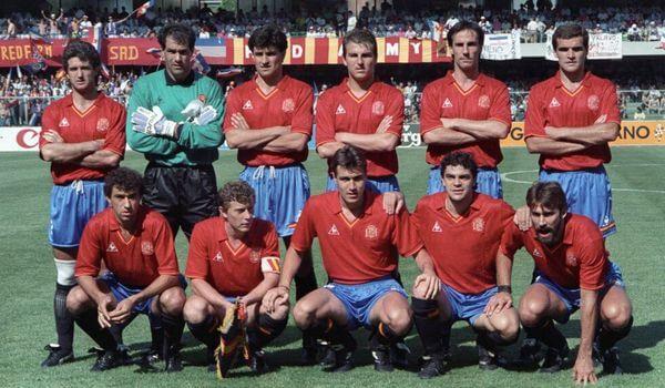 Maglia Spagna 1990