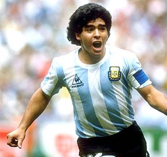 Maradona Argentina 1982