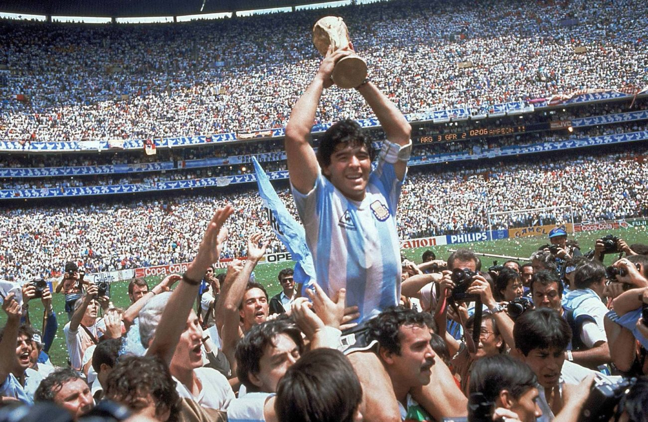 Maradona Argentina 1986