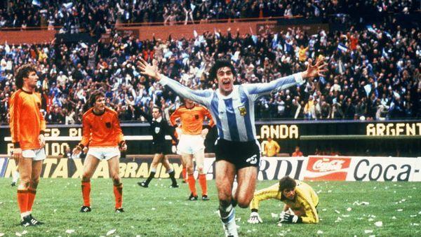 Maro Kempes, eroe del mondiale del 1978 vinto dall'Argentina in casa