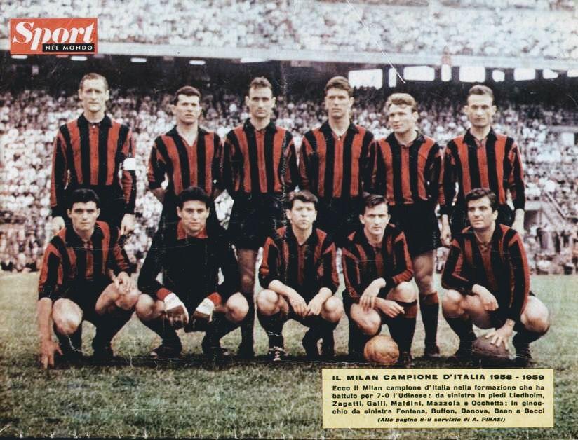 Milan Scudetto 1958-59