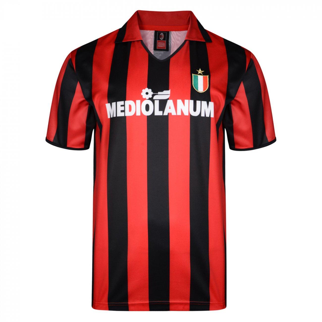 Camiseta AC Milan 1988 1989