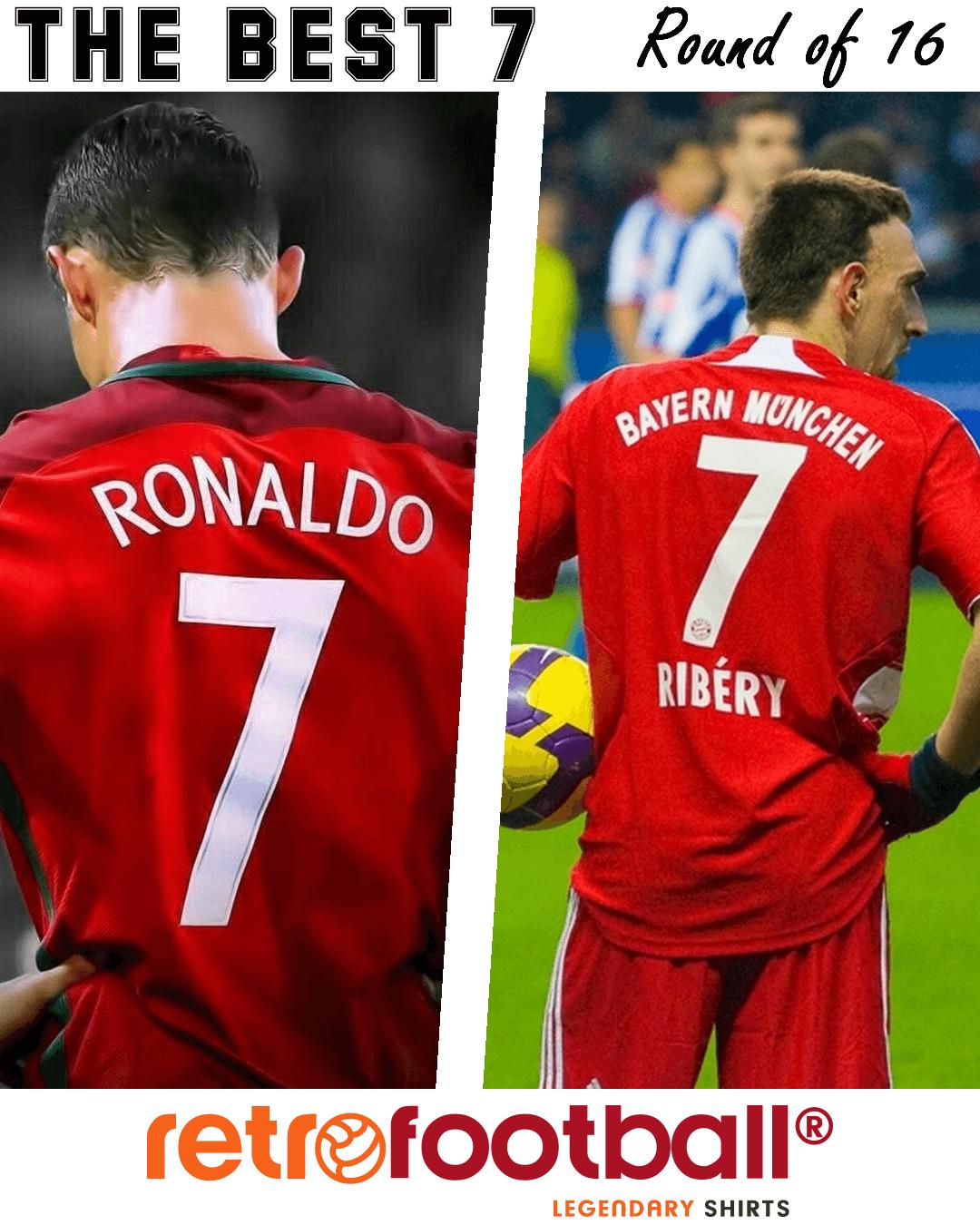 Cristiano Ronaldo Ribery The best 7 Retrofootball
