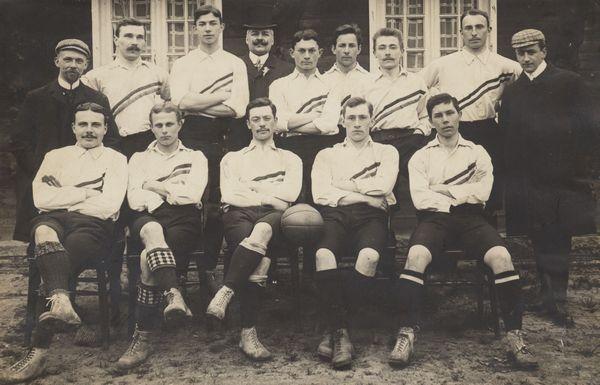 La Nazionale olandese nel 1905