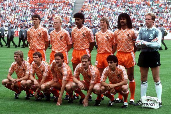 L'Olanda campione d'Europa a Euro88