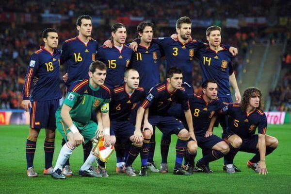 Spagna Mondiale 2010 Sudafrica