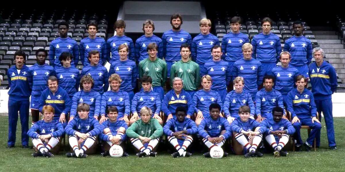 Squadra del Chelsea nel 1984