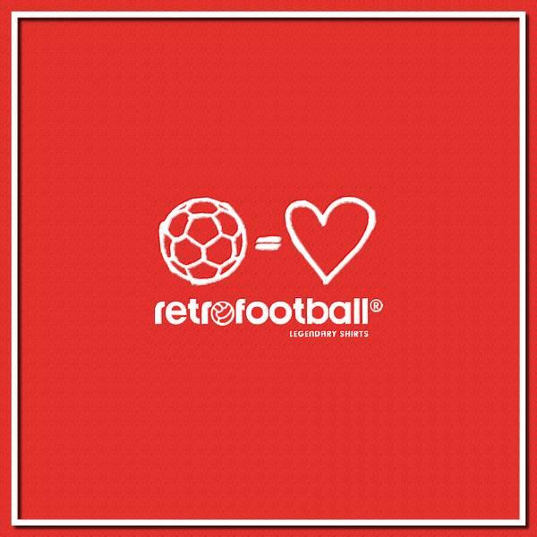 Valentin'es Day Football Retro